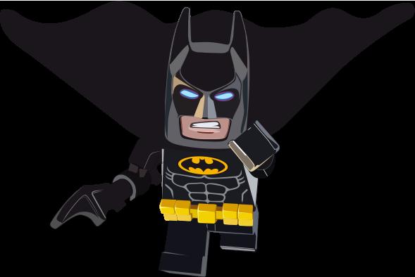 TenVinilo. Pegatina Batman Lego. Vinilo decorativo infantil con un dibujo del superhéroe favorito de los más pequeños de casa.