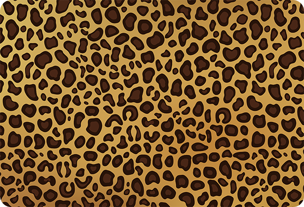 TenStickers. Panther skin laptop skin decal. Decorative panther skin laptop sticker to decorate any laptop in animal skin print style. It is available in any required size.
