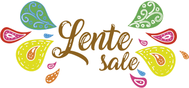 TenStickers. Spring sale window decal. Decorative business shop front window sticker to promote spring sales. It is easy to apply and adhesive. Available in any required size.