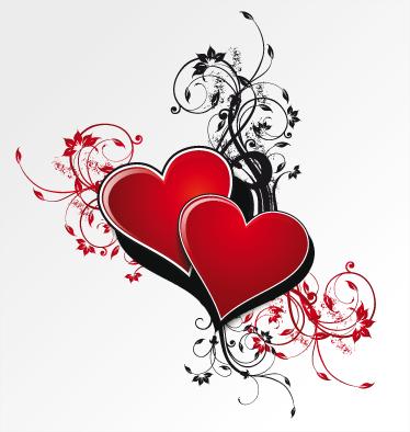 TenStickers. Leidenschaft Aufkleber. Wandtattoo Herz - Mit diesen Herzen als Aufkleber können Sie Ihrem Zuhause eine besondere Note verleihen. Ideal für das Wohnzimmer oder Schlafzimmer.