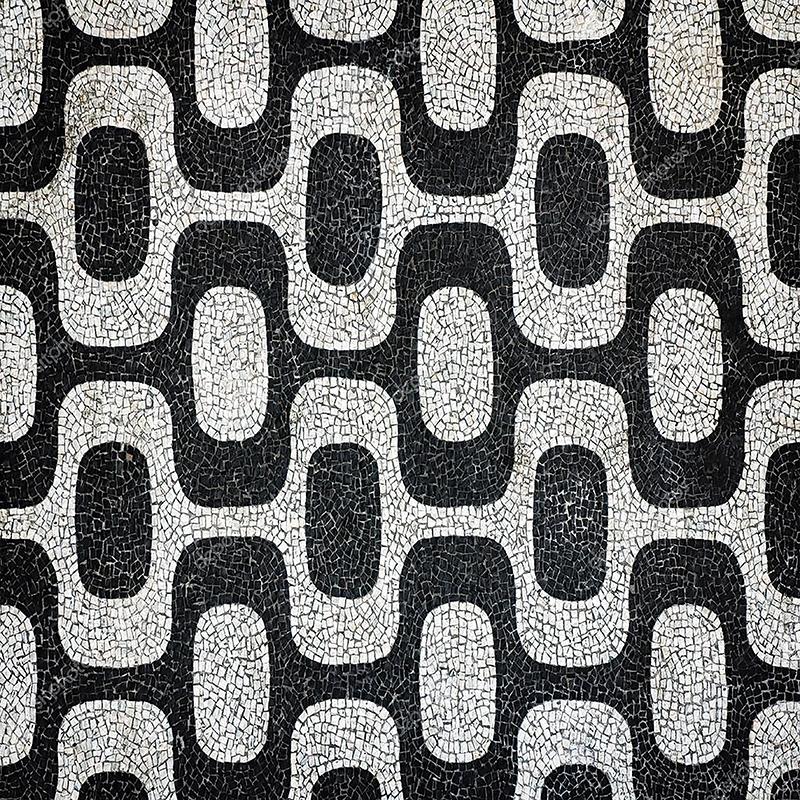 TENSTICKERS. ポルトガルの石造りの歩道テクスチャ壁デカール. ポルトガルの石造りの歩道テクスチャウォールステッカー。家をクラシックなスタイルで飾ります。必要なサイズでご利用いただけます。