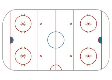 TenStickers. Nalepka hokejske strategije, na katero lahko pišete. Nalepka na drsališču za hokej na ledu, na katero lahko napišete, vam bo pomagala pri pripravi najboljše strategije za zmago v igri. Enostaven za nanašanje na steno!