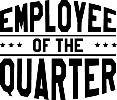 TenStickers. Employee of the Quarter Wall Sticker. Employee of the Quarter wall sticker. Are you looking to motivate your employees and improve morale in the workplace? Job done!