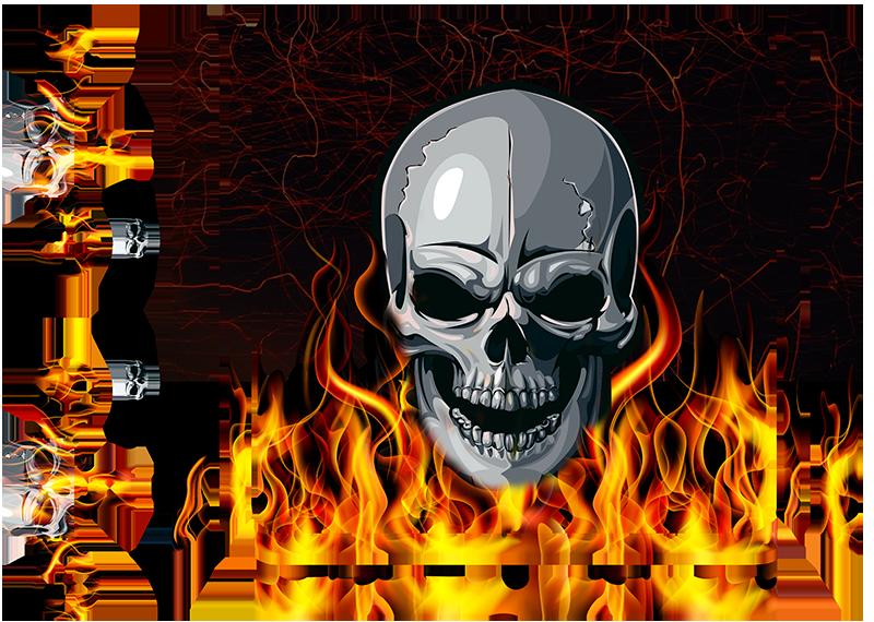 TenStickers. verschiedene Aufkleber PS4 Totenkopf Skin. Dieses Totenkopf PS4 Skin mit coolen Flammen gibt Ihrer Spielkonsole einen coolen Anstrich, der garantiert zum Hingucker wird. 24-/48h-Express-Versand