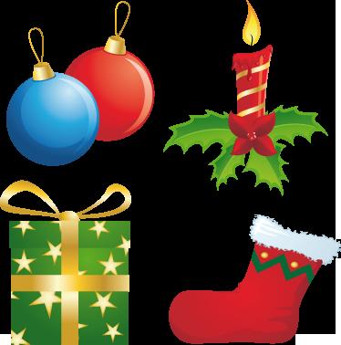 vinilo decorativo stickers navidad