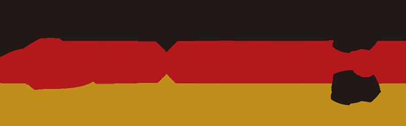 TenStickers. Nogometna nalepka germany 2018. Pokažite svoje občudovanje za svetovni pokal 2018 s to nogometno nalepko z zastavo nemčije. Izjemno dolgotrajen material.