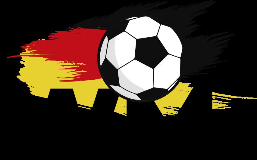 TenStickers. Nalepka svetovne nogometne nemčije. Nogometna stenska umetnost nalepka z brizgajočo barvo nemške zastave. Na voljo je v poljubni velikosti. Enostaven za nanašanje in lepilo