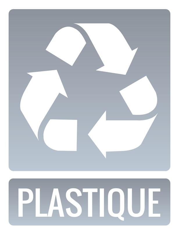 TenStickers. Stickers Dessin Recyclage Plastique. Vous souhaitez respecter vos bonnes résolutions et sauver la planète ? Rien de plus simple avec ce sticker pictogramme écolo !