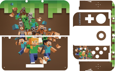 TenStickers. Minecraft Nintendo Skin. Our Minecraft Nintendo skin is for fans of one of the most popular games in the world. This Minecraft Nintendo wrap is for gamers who are ready to take on an adventure.