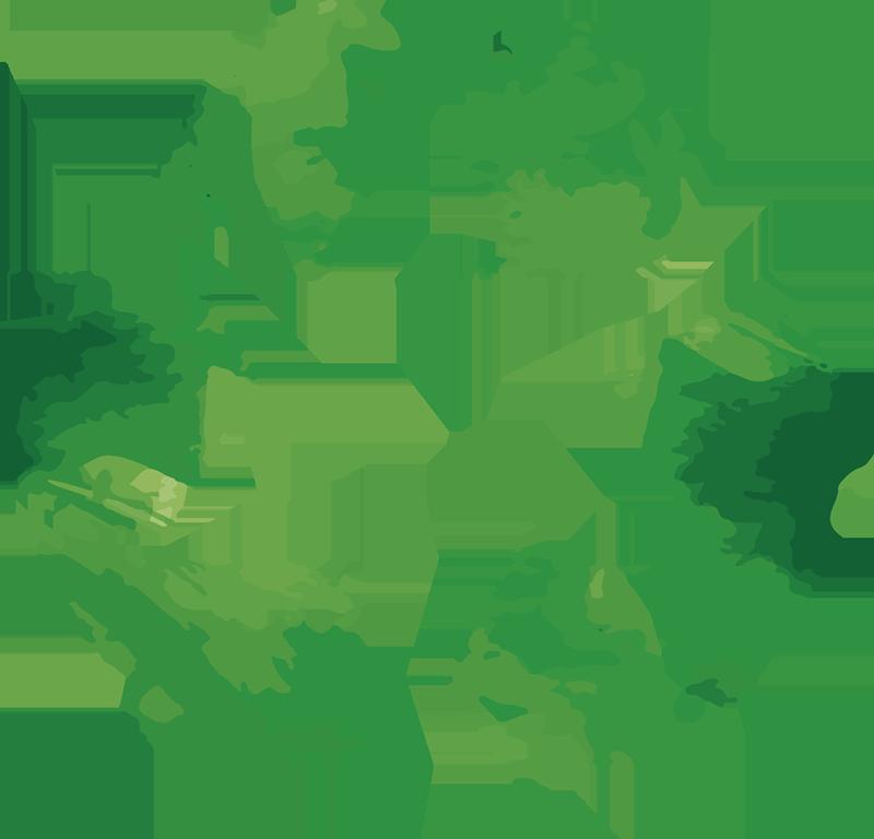 TenStickers. Recycle sign klistermærke. Opfordre alle til at genbruge med dette store klistermærke!