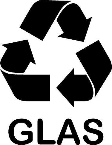 TenStickers. Nalepka z znakom za recikliranje glasbe. Reši planet! Začnite reciklirati glas danes s to ikono nalepke, ki prikazuje simbol za recikliranje in besedo glas, tako da vsi vedo, kaj tukaj spada.