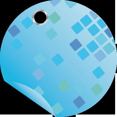 TenStickers. Sticker soldes offre spéciale. Annoncez vos offres et vos remises ponctuelles en vitrine grâce à ce sticker rond de couleur bleue au texte personnalisable.