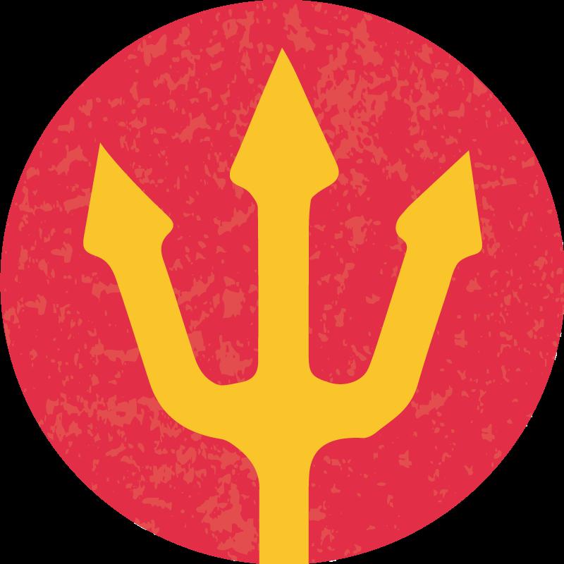 TenStickers. Autocollant Tuning Logo Diables Rouges. Quoi de mieux pour décorer votre véhicule qu'un autocollant tuning représentant le logo de l'équipe des Diables Rouges de Belgique ?