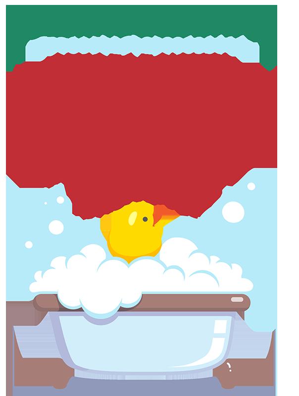 Cartel Normas Del Baño Para Niños Tenvinilo
