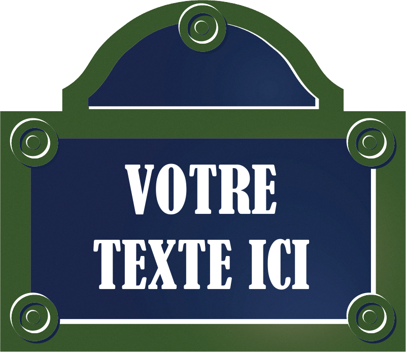 TenStickers. custom paris street wall decal. Custom city wall sticker design with text customisation. Provide any name needed for the design in the text filed. Easy to apply.