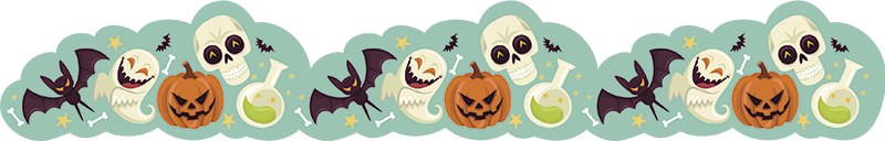 TenStickers. Halloween Wall Decorations. Add some Halloween figures to the wall of your home with this fantastic, unique, wall mural sticker! Extremely easy to apply.