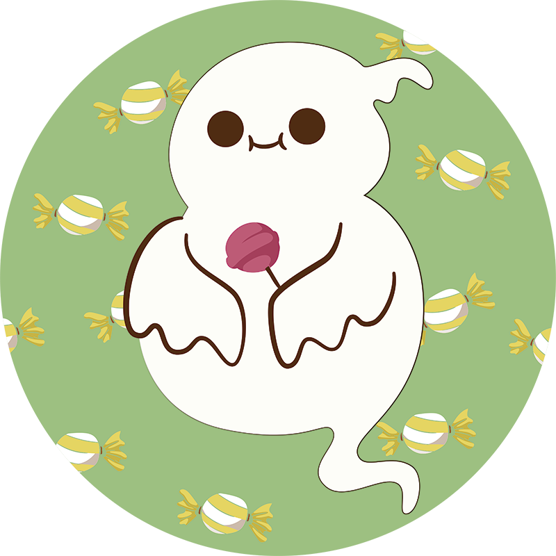 TenStickers. Ghost Children´s Bedroom Sticker. Add a fun ghost to the wall of your child´s bedroom with this superbly playful and stylish wall art sticker! Sign up for 10% off.