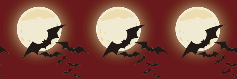 TenStickers. Colony of Bats Halloween Wall Sticker. A colony of bats next to a calendar dated 31st October! Perfect for Halloween! 10,000 satisfied customers. Personalised stickers.