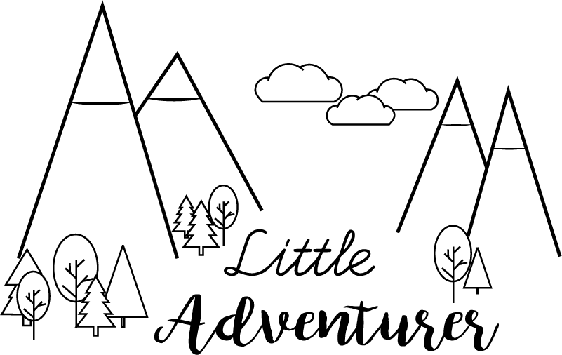 TenStickers. Little Adventurer Wall Sticker. Add a sense of wonder to your child´s bedroom with this fantastic sticker! Anti-bubble vinyl.