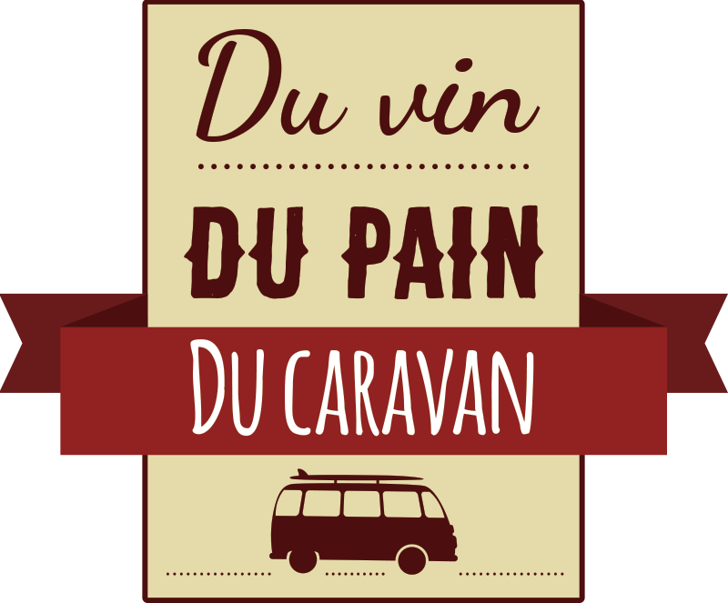 TenStickers. Du Vin Caravan NL Car Decal. Travel text vinyl car sticker to decorate any vehicle. Available in different size options.Easy to apply and self adhesive.
