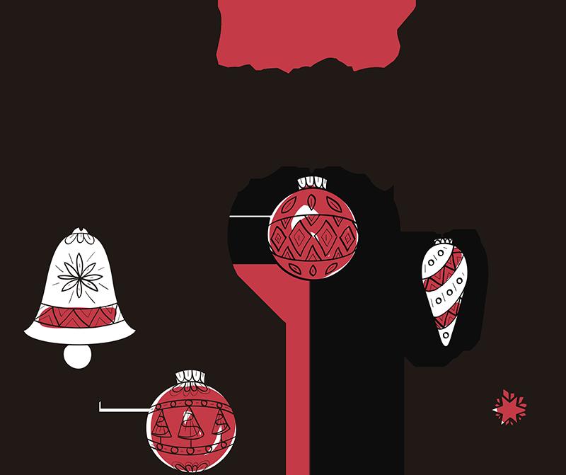 TenVinilo. Vinilo frase feliz navidad. Vinilo navidad adhesivo con el que podrás felicitar a los invitados de tu casa o a los clientes de tu negocio. Servicio de Atención al Cliente Personalizado