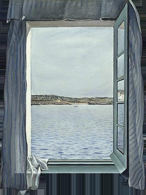 TenStickers. Trompe l'oeil fotografija morske stenske nalepke. S to nalepko stene lahko ustvarite svoje okno s pogledom na morje. Vsakogar s tem dizajnom zavede v trompejskem slogu.