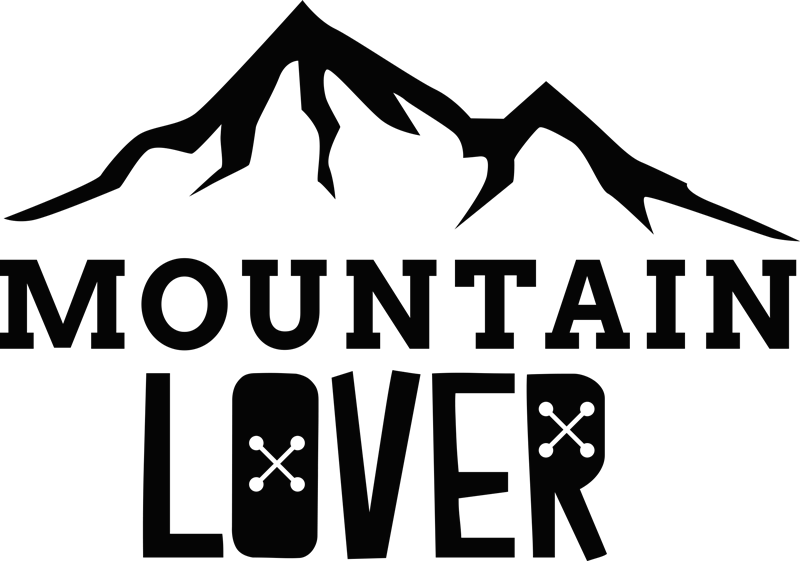 TenStickers. Mountain Lover Wall Sticker. Show your love for the mountains with this brilliant sticker! Discounts available.