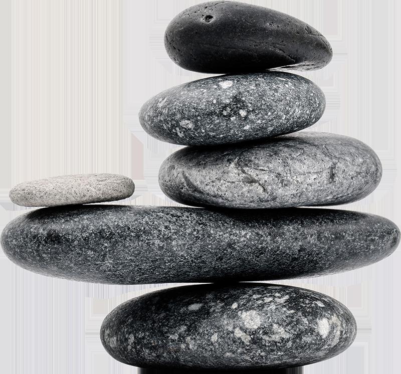 TenVinilo. Vinilo original piedra pacífica. Original vinilo con significado espiritual formado por piedras de diferentes tamaños colocadas una encima de otra. Descuentos para nuevos usuarios.