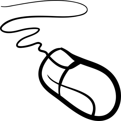 Sticker dessin souris ordinateur - Souris ordinateur dessin ...