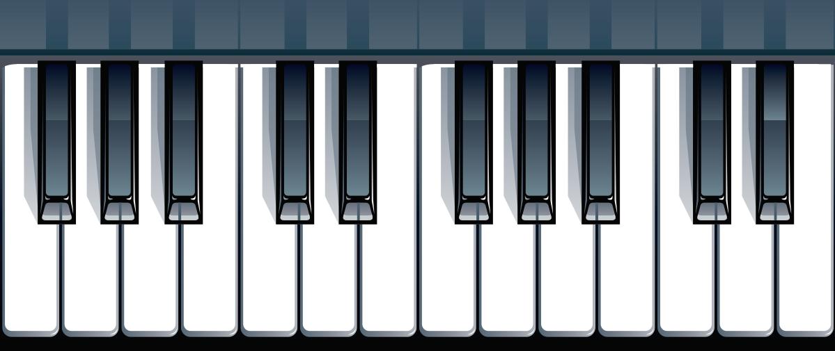 TenVinilo. Vinilo musical teclado de piano. Vinilo decorativo para escalera con una representación de un teclado de piano, ideal para personalizar tu hogar a tu gusto. Servicio de Atención al Cliente Personalizado