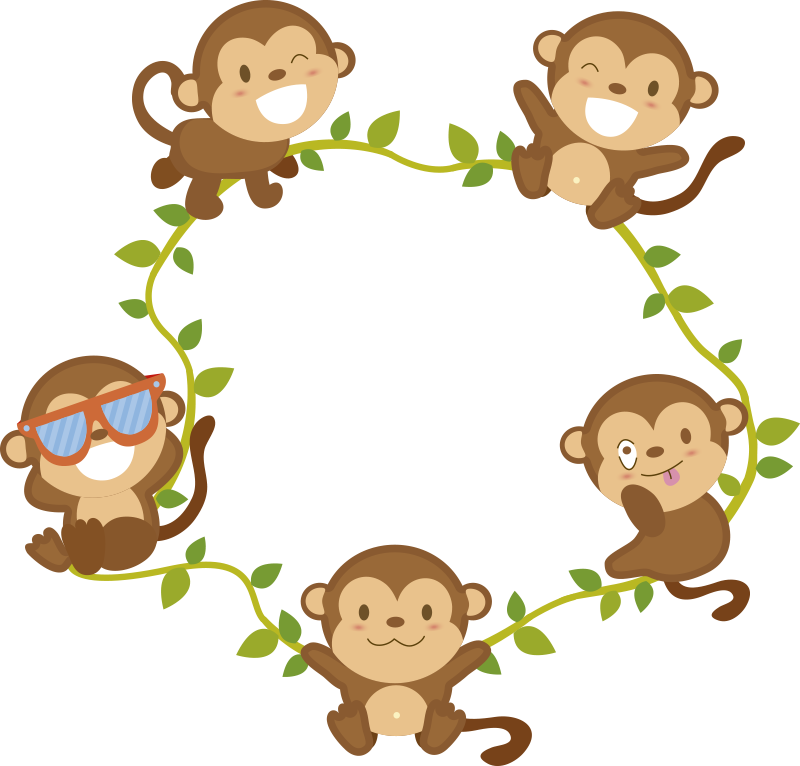 TenStickers. Monkeys Light Switch Sticker. Decorate your light switch with monkeys thanks to this fantastic light switch sticker! They revolve around the switch! Anti-bubble vinyl.