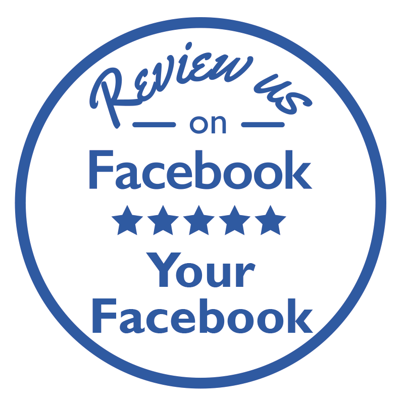 TenStickers. Review us on Facebook Customisable Sticker. A fantastic business sticker to ask your customers for a Facebook review! Everything is better with a good Facebook review! Choose your size.