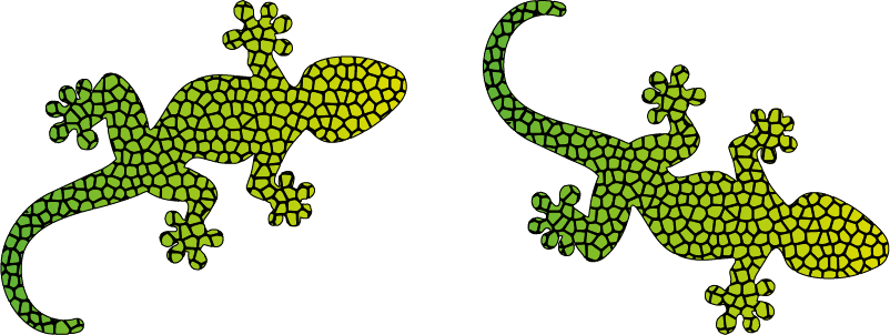 TenStickers. Lizard Collection Wall Stickers. Bring the lizards to you with this fantastic home decal sticker! Anti-bubble vinyl.