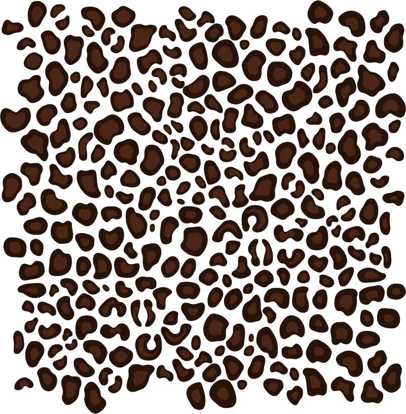 TenStickers. Leopard Skin Home Sticker. Decorate your home with this fantastic leopard skin design! Choose your size.