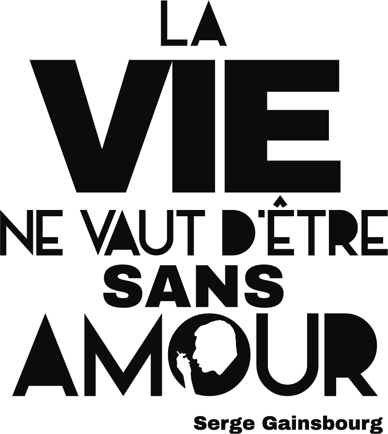 TenStickers. Sticker Mural Citation Amour Serge Gainsbourg. Découvrez une nouvelle manière de décorer votre salon ou votre chambre à coucher avec ce sticker mural de phrase d'amour de Serge Gainsbourg. Achat Sécurisé et Garantit.