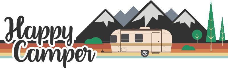 TenStickers. Stickers Monde Campeur Joyeux. Découvrez comment décorer votre caravane de manière personnelle avec notre sticker tuning fait pour les passionnés du voyage. Livraison Rapide.