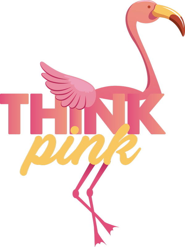 TenStickers. Pink Flamingo Wall Sticker. Add a gorgeous splash of pink to your home with this superb wall sticker! Discounts available.