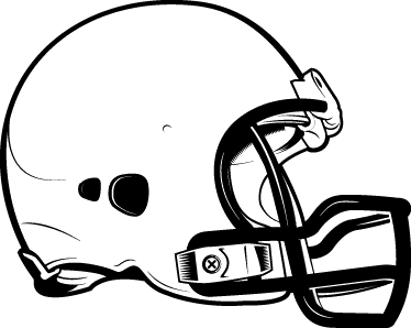 TenStickers. American Football Helmet Wall Sticker. Sports Stickers - An American football helmet. Choose a size and colour for this wall sticker.