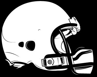 TenVinilo. Vinilo casco fútbol americano. Si eres un apasionado del rugby, imagina que eres el quarterback del equipo y decora la pared de tu habitación con éste original vinilo.
