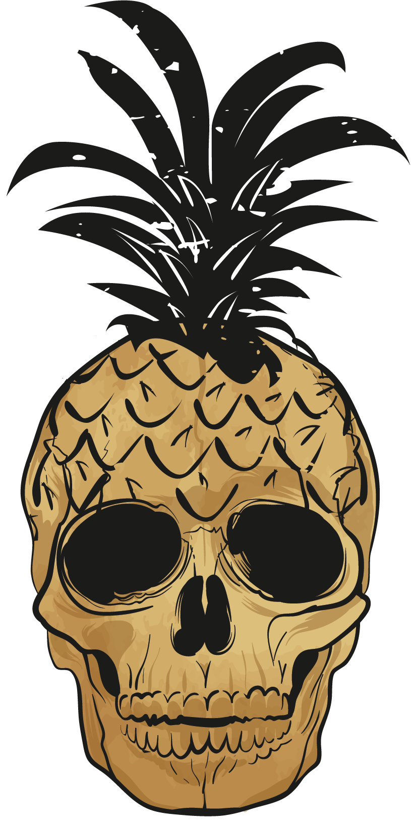TenStickers. Pop Art Pineapple Wall Art Sticker. Add some pop to your home with this fantastic, Andy Warhol inspired wall sticker! Choose your size.