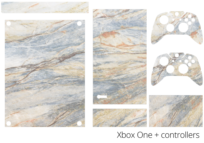 TenStickers. Marble Effect Xbox Skin Sticker. Turn your Xbox into marble with this superbly realistic Xbox skin sticker! Discounts available.