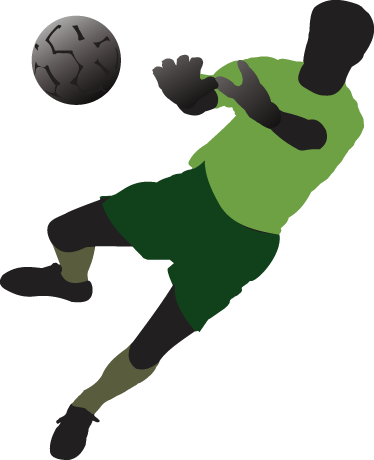 TenStickers. Diving Goalkeeper Football Wall Sticker. Football wall stickers - A goalkeeper decal that is perfect for your children´s room! If they love football, or love playing in goals, then this sports sticker is what they need!