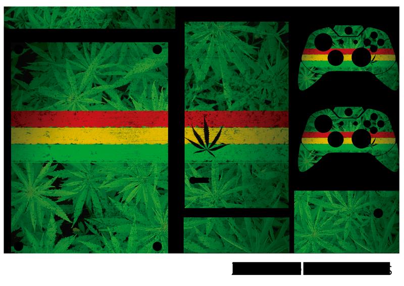 TenStickers. Cannabis pflanze xbox sticker. Füge mit diesem fantastischen xbox sticker etwas cannabis zu deinem zuhause hinzu! Keine rückstände beim entfernen.
