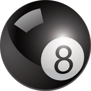 TenStickers. 8 Ball Pool Wall Sticker. Straight from the pool table, the match winner ball Great for decorating kids rooms or sports roomsIdeal for fans and sports-related organisations