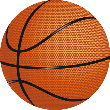 TenStickers. Basketball Wall Kids Sticker. Kids Stickers - Add a sporty touch to any room with this basket ball design. Ideal for fans and sports-related organisations.