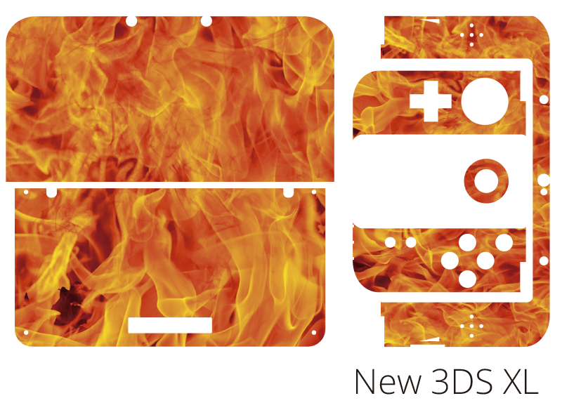 TenStickers. Fire Nintendo Skin Sticker. Add some flames to your Nintendo with this fantastic skin sticker! +10,000 satisfied customers.