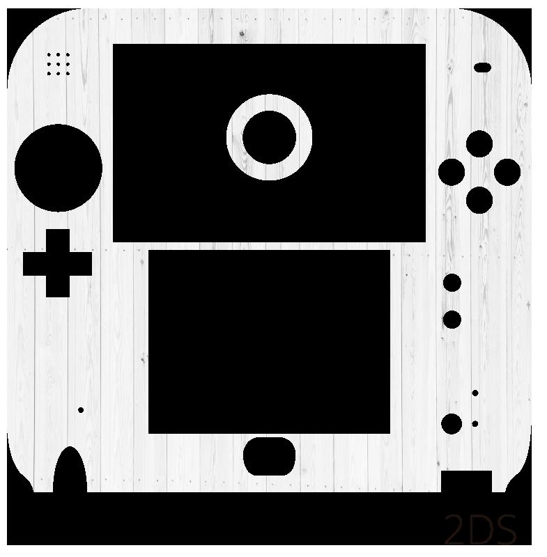 TenStickers. Nintendo sticker wit hout. Decoreer de Nintendo met deze Nintendo sticker die een witte, houten textuur afbeeldt en val op tussen andere gamers. +10.000 tevreden klanten.