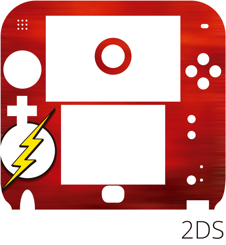 TenStickers. The Flash Nintendo Sticker. Add a Flash to your Nintendo with this superhero themed Nintendo skin sticker! Zero residue upon removal.