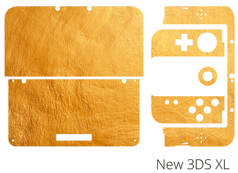 TenStickers. Golden Texture Xbox Skin Sticker texture wall sticker. Add a touch of gold to your Nintendo with this fantastic golden Nintendo skin sticker! Personalised stickers.