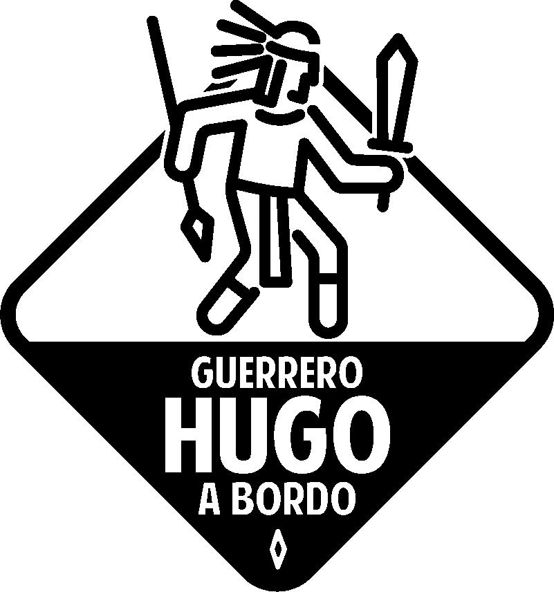 """TenVinilo. Pegatina bebé a bordo Guerrero azteca personalizable. Original pegatina para vehículo formada por la ilustración de un guerrero azteca, acompañado del texto """"Guerrero a bordo"""". +50 Colores Disponibles."""